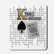 King of Spades Poker Design Mousepad