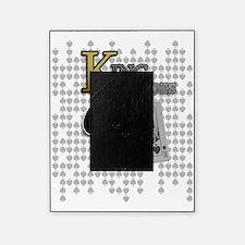 king of spades poker design picture frame