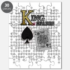 King of Spades Poker Design Puzzle
