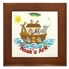 Noahs Ark Framed Tile