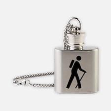 forwhite_hilking_trail_oddsign1 Flask Necklace