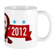 obama-2012-face2 Coffee Mug