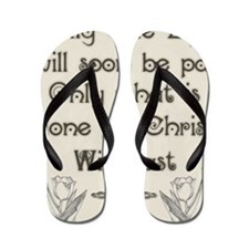 Only One Life Flip Flops