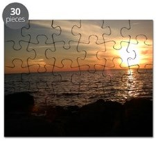 brilliant sunset Puzzle