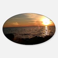 brilliant sunset Decal