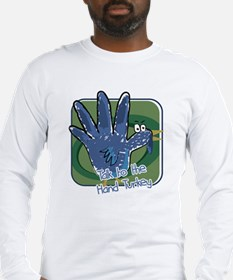 hand turkey Long Sleeve T-Shirt