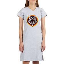 pentagram  Women's Nightshirt