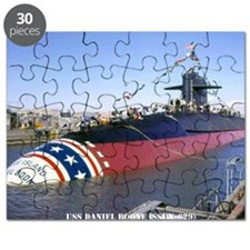 dboone large framed print Puzzle