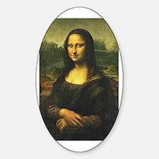 Mona Lisa Oval Decal