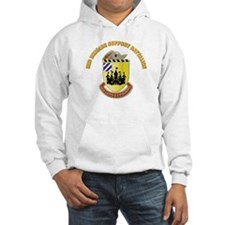 DUI - 3rd Brigade Support Bn with Text Hoodie