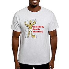 squatchsmell-diaper T-Shirt