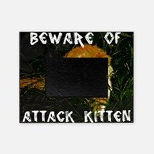 Attack Kitten Picture Frame