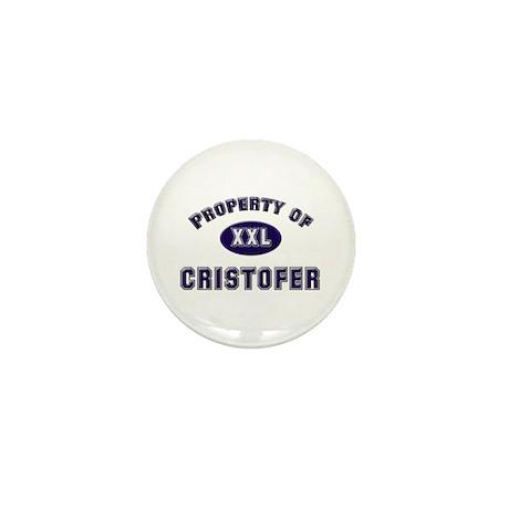 Property of cristofer Mini Button