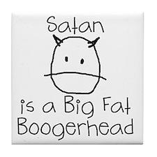 satan-boogerhead Tile Coaster