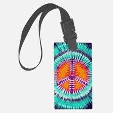 441 Blue Peace Luggage Tag