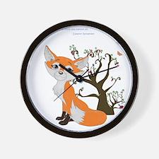 foxtrottshirtLG Wall Clock