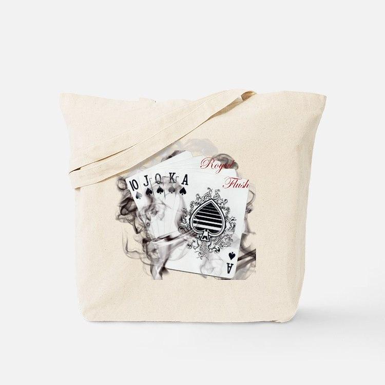 SmokinRoyalFlushB Tote Bag