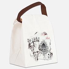 SmokinRoyalFlushB Canvas Lunch Bag