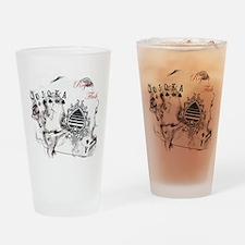 SmokinRoyalFlushB Drinking Glass