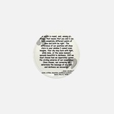 Jordan Cornering Quote Mini Button