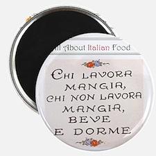 Foodie apron 2 Magnet