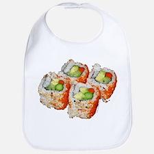 Inside-Out Veggie Roll Sushi Bib