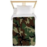Camo Luxe Twin Duvet Cover