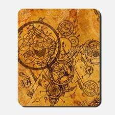 clockwork-collage_ff Mousepad