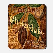 chocolate-collage_ff Mousepad