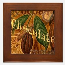 chocolate-collage_ff Framed Tile