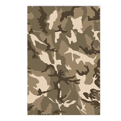 camo-tan_ff Postcards (Package of 8)
