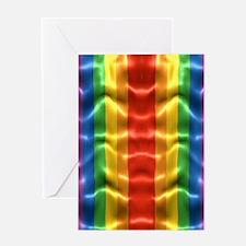 rainbow-flag-ripple_ff Greeting Card