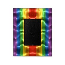 rainbow-flag-ripple_ff Picture Frame