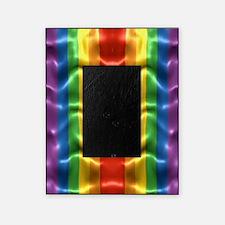 rainbow-flag-ripple_ff Picture Frame