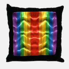 rainbow-flag-ripple_ff Throw Pillow