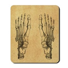 foot-bones-antique_ff Mousepad
