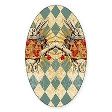 White Rabbit Vintage Decal
