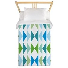 triangle-geese-blue_ff Twin Duvet