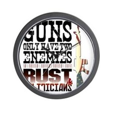GUNS Wall Clock
