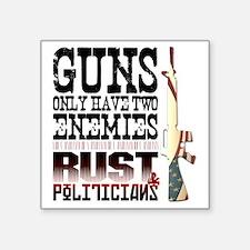 """GUNS Square Sticker 3"""" x 3"""""""