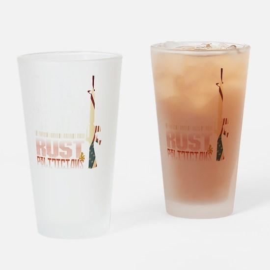 GUNS Drinking Glass