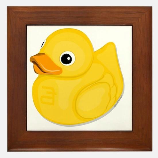 rubberduck-logo Framed Tile