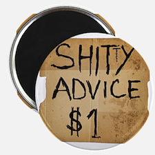 shitty advice Magnet