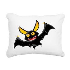 bat Rectangular Canvas Pillow