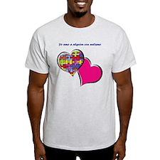 yo amo a alguien con autismo T-Shirt