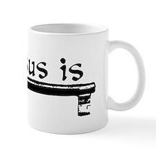 Jesus_is_key Mug