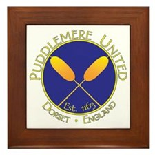 Puddlemere United Framed Tile