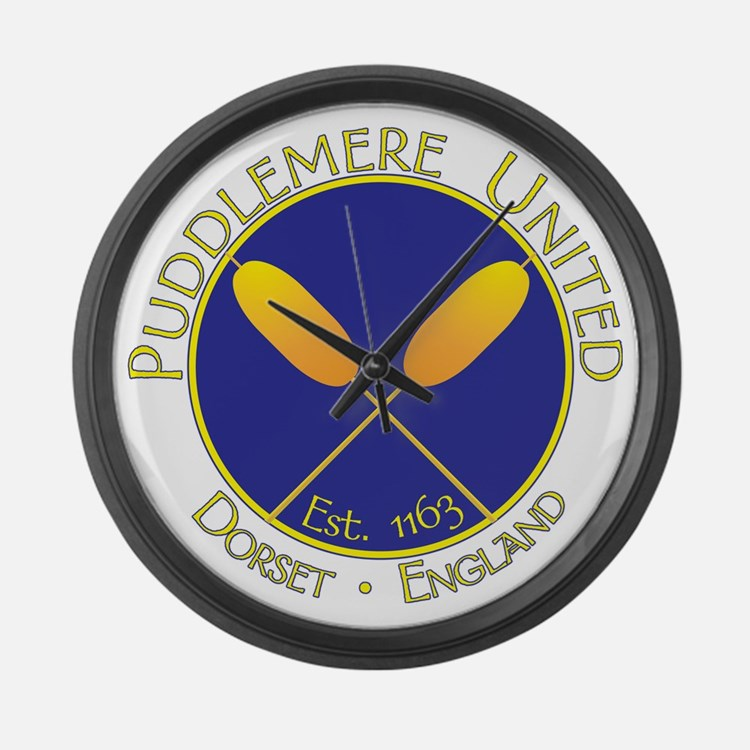 Puddlemere United Large Wall Clock