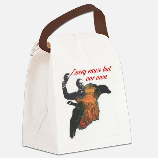 evcause Canvas Lunch Bag