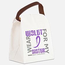 D I Wear Violet Sister 46 Hodgkin Canvas Lunch Bag